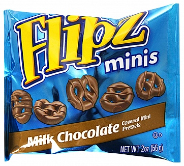 Milk Chocolate Pretzel Flipz Minis