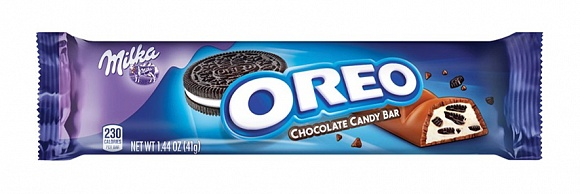 Milka Oreo Cookies & Creme Chocolate Bar (24 x 41g)
