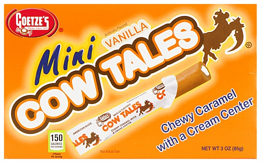 Mini Vanilla Cow Tales (85g) (Case of 12)