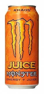 Monster Orange Khaos (Case of 24)