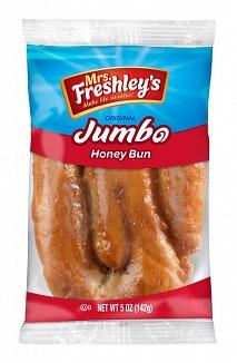 Mrs. Freshley's Jumbo Honey Buns (8 x 6ct)