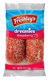 Mrs. Freshley's Raspberry Dreamies (8 Twin Packs)