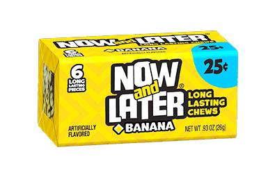 Now & Later Banana (6 pcs)