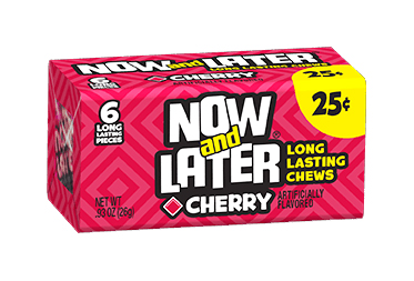 Now & Later Cherry (Box of 24)