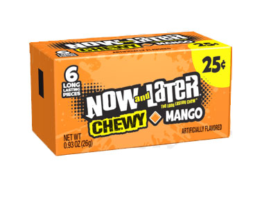 Now & Later Chewy Mango (24 x 26g)