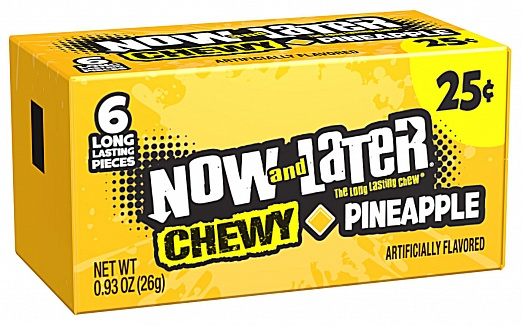 Now & Later Chewy Pineapple (24 x 26g)