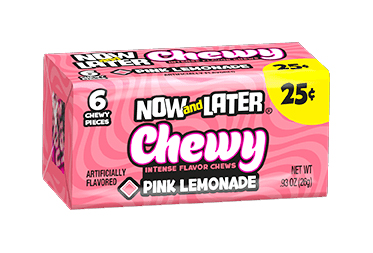 Now & Later Chewy Pink Lemonade (Box of 24)