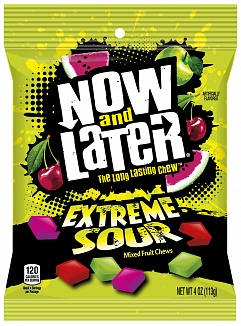 Now & Later Extreme Sour (12 x 113g)