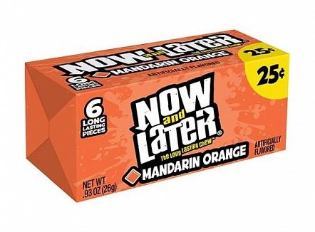 Now & Later Mandarin Orange (24 x 26g)