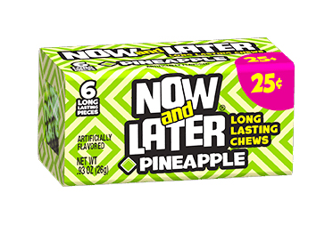 Now & Later Pineapple (Box of 24)