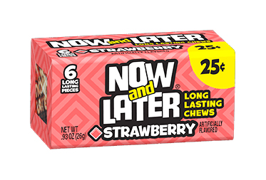Now & Later Strawberry (12 x 24ct)