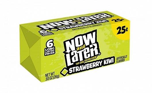 Now & Later Strawberry Kiwi (24 x 26g)