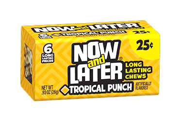Now & Later Tropical Punch (Box of 24)