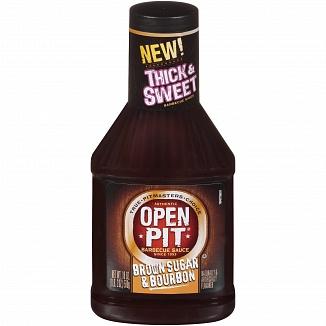 Open Pit Barbecue Sauce Brown Sugar & Bourbon (12 x 510g)