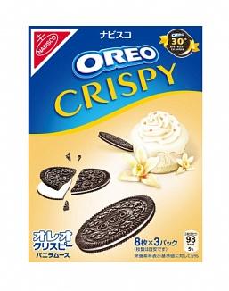 Oreo Crispy Vanilla Mousse (10 x 154g)