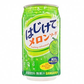 Hajikete Melon Soda (24 x 350ml)