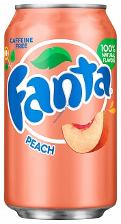Peach Fanta (12 x 355ml)
