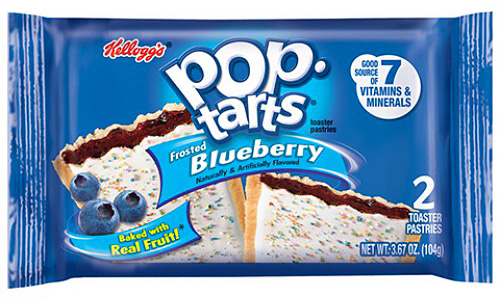 Frosted Blueberry Pop-Tarts (2pk) (Box of 6)