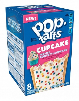 Pop-tarts Frosted Confetti Cupcake 8 Pack (12 x 384g)