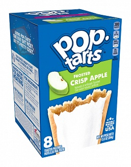 Pop-Tarts Frosted Crisp Apple (12 x 384g)