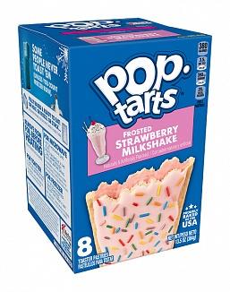 Pop-Tarts Frosted Strawberry Milkshake 8 Pack (12 x 384g)