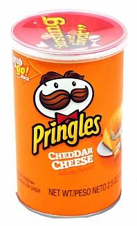 Pringles Grab & Go Cheddar Cheese (12 x 71g)