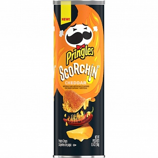 Pringles Scorchin' Cheddar (14 x 158g)