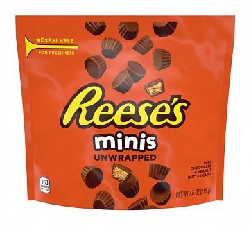 Reese's Minis Peanut Butter Cups (8 x 215g)