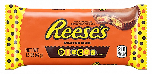 Reese's Peanut Butter Cups with Reese's Pieces (Box of 24)