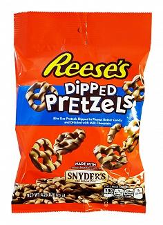 Reese's Peanut Butter Dipped Pretzels (12 x 120g)