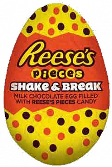 Reese's Pieces Shake & Break Egg (21 x 34g)