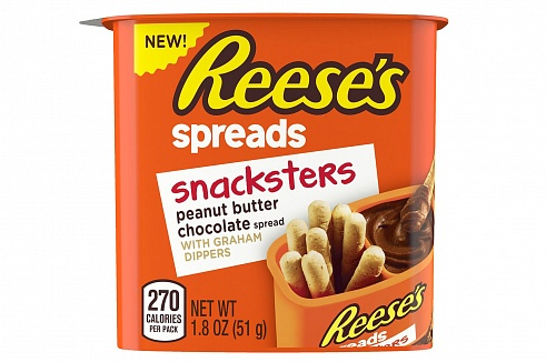 Reese's Snacksters PB Chocolate Spread & Graham Crackers
