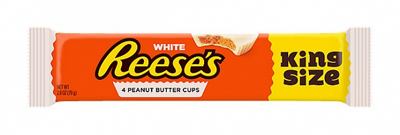 Reese's White Peanut Butter Cups (King Size) (Box of 18)