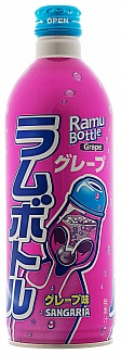 Sangaria Grape Ramune Soda (24 x 500ml)