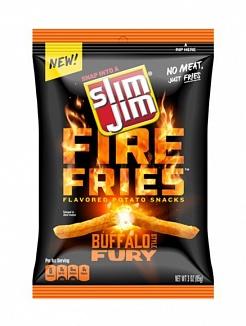 Slim Jim Fire Fries Buffalo Fury (12 x 78g)