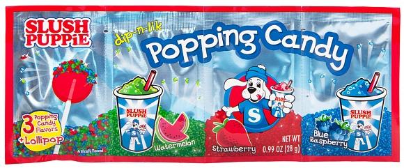 Slush Puppie Dip-N-Lik Popping Candy (Box of 12)