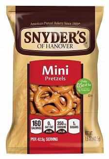 Snyder's Mini Pretzels (30 x 43g)