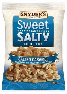 Snyder's Sweet & Salty Pretzel Pieces Salted Caramel (10 x 100g)