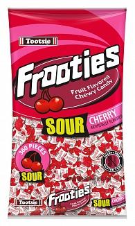 Sour Cherry Tootsie Frooties 360ct Bag (12 x 1.10kg)