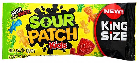 Sour Patch Kids King Size (96g) (Box of 18)