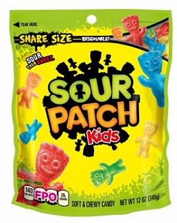Sour Patch Kids Share Size (12 x 340g)