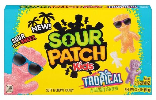 Sour Patch Kids Tropical (12 x 99g)