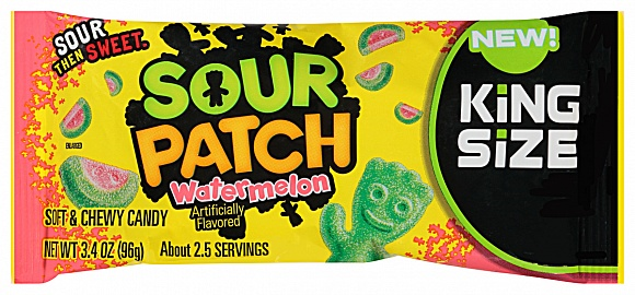 Sour Patch Watermelon King Size (18 x 96g)
