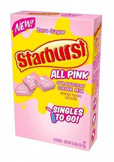 Starburst Singles To Go All Pink (12 x 12g)