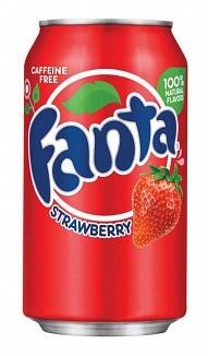Strawberry Fanta (12 x 355ml)