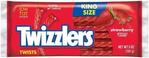 Strawberry Twizzlers (King Size) (15 x 141g)
