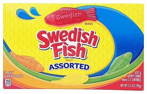 Swedish Fish Assorted (12 x 99g)