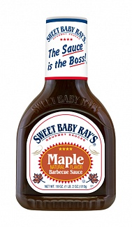 Sweet Baby Ray's Barbecue Sauce Maple (12 x 510g)