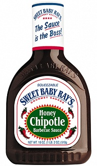Sweet Baby Ray's Honey Chipotle Barbecue Sauce (12 x 510g)
