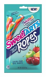 SweeTARTS Ropes Twisted Rainbow Punch (12 x 141g)